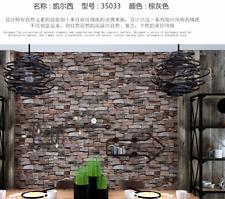 High Quality European-3D- PVC Retro Wallpaper for living room/bedroom/bar/office