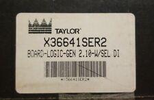 TAYLOR CONTROL-LOGIC-GEN-BOARD X36641SER2 GEN 2.10-W/SEL DI OEM (NEW)