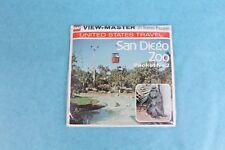 VINTAGE VIEW-MASTER 3D REEL PACKET H60 SAN DIEGO ZOO CALIFORNIA No. 2  SEALED