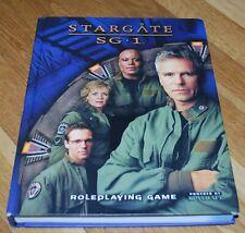 Stargate Sg-1 Roleplaying Game Hc D20 Aeg
