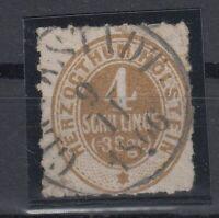X2251/ GERMANY – SCHLESWIG – MI # 25 USED – CV 110 $