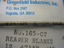 """H-2-3 1//2""""C-L#405 Straight Flute 92-01G Reamer"""