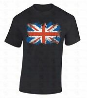 British Flag T-SHIRT Union Jack United Kingdom UK Great Britain England Shirt