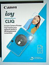Canon ivy CLIQ Instant Camera Printer - Blue