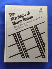THE MARRIAGE OF MARIA BRAUN - 1ST. ED. SIGNED BY FASSBINDER AND CAST MENMBER