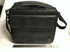 Targus OCU2 Leather Laptop Notebook Case Bag Organizer Briefcase 12-13 Inch