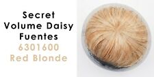 Genuine Secret Volume Hair Topper By Daisy Fuentes Color 6301600 Red Blonde