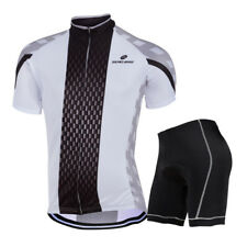 ZeroBike Clothing Mens Bike Bicycle Suit Short Sleeve Jersey & Short Cycling Set