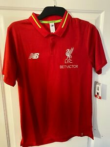 New New Balance Liverpool FC Polo shirt Red Size S