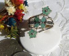 ® Anelli floreal argento 925 ♥  Rubini zaffiri Smeraldi ®