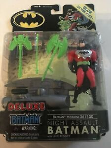 NIB Deluxe NIGHT ASSAULT BATMAN Mission Masters 4 Action Figure