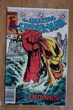 Marvel the Amazing Spider-Man #251 (Apr, 1984) Last Old Costume