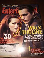 Nov 25 2005 issue of Entertainment Weekly Walk the Line Phoenix Witherspoon #326