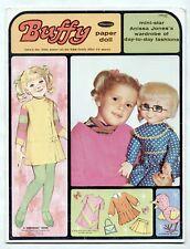 Vintage Whitman BUFFY paper dolls 1968 Mrs. Beasley/FAMILY AFFAIR TV SHOW/MOD!