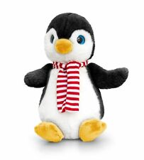 Juguete Suave Felpa De Pingüino con Bufanda Regalo De Navidad 20cm niños Keel Toys