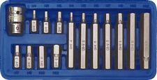 Steckschlüssel Satz Innen-Sechskant Bit Box Nüsse Nuss Set Einsatz 1/2 4-12mm 15