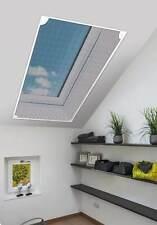 Schellenberg Insektenschutz für Dachfenster ohne bohren - 80 x 140 cm in Weiß