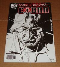 2011 Cobra Vol 2 #3 David Williams 1:10 RI Variant Edition 1st Print G.I. Joe