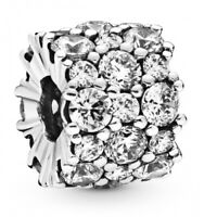 Clear Sparkle All Over PANDORA Charm 925er Sterlingsilber 798487C01