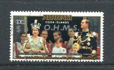 Aitutaki O15,  CTO, Official stamps 1978. Reign of Queen Elizabeth II x13754