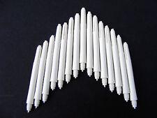 DART STEMS 5 PACKS OF DEFLECTAGRIP SET WHITE MEDIUM SHAFTS FREE POST