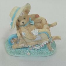 Cherished Teddies Figurine Jennifer Gathering The Blooms Priscilla Hillman