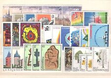 LU - LUXEMBOURG 1995 complete year set MNH