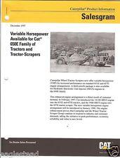 Equipment Brochure - Caterpillar - 650E - Elevating Scraper HP - 1997 (EB261)