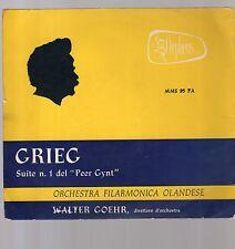 grieg - suite n.1 del peer gynt - -  - 33 giri club orpheus