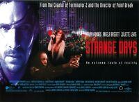 Strange Days movie poster -  Ralph Fiennes - 12 x 16 inches