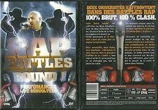 RARE / DVD - RAP BATTLES : ROUND 1 LIVE SURVOLTEES / COMME NEUF - LIKE NEW