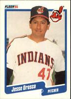 1990 Jesse Orosco Fleer Baseball Card #500