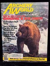 VINTAGE Rare Archery World Magazine MARCH 1977 Hunting Bows Recurve Martin