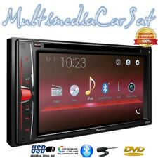 """PIONEER AVH-A200BT Autoradio 2 Doppio DIN 6,2"""" USB DVD Viva Voce Smartphone"""