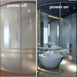 15cmX20cm PDLC Electronic Control Window Glass Smart Film Home Room SelfAdhesive