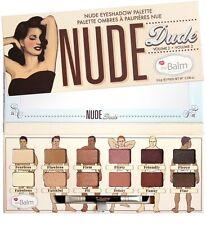 the Balm Nude Dude Vol 2 eyeshadow palette - NIB - super fast shipping