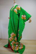 Kimono Dress Japan Furisode Hanayome Japanese costume Vintage dress KDJM-F0071