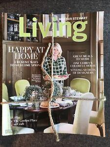 Lot  of 9 Martha Stewart Living Magazine 2019, 2020
