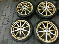 Honda  DOTZ  Sommerräder 7 x 17  205 / 40 R 17  4 x 100 KBA 47085