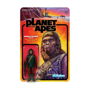 planet of the apes gorilla hunter reaction action figure