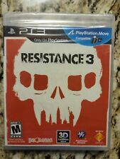 *New, Sealed* Resistance 3 Sony PlayStation 3 PS3