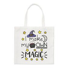 I Make My Own Magic Regular Tote Bag Funny Joke Magical Witch Wizard Shopper