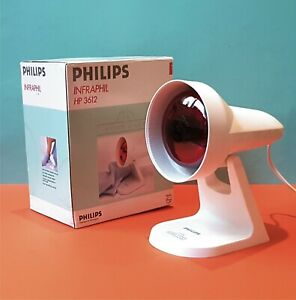 PHILIPS Infra red Physiotherapy heat lamp PAIN RELIEF rheumatic muscular bruises