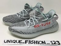 ADIDAS YEEZY BOOST 350 V2 BLUE TINT US 10 UK 9.5 44 2017 100% GENUINE GREY