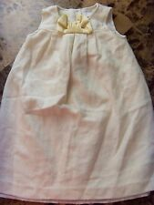 girls CAMILLA FANCY IVORY DRESS gold CHRISTMAS NEW YEAR'S holiday pretty SIZE 5T