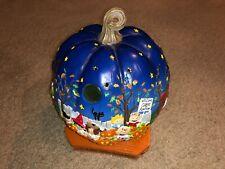 Peanuts: It's the Great Pumpkin Charlie Brown - The Danbury Mint Lighted Pumpkin