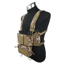 TMC Hunting Tactical Airsoft Vest Modular Chest Rig Set TMC3115-SST