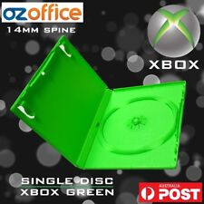 XBOX Game Replacement Case XBOX Green Single DVD Case XBOX DVD Covers