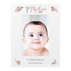 PERSONALISED 1st Mothers Day Gift Idea Photo Frame Grandma Nana Mum
