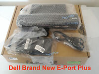 new dell e port docking station pr02x e-port plus replicator k09a + 130w adapter